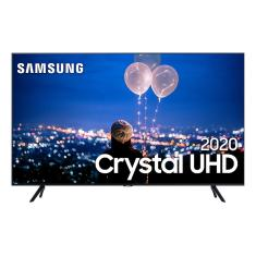 "Smart TV TV LED 65"" Samsung Crystal 4K HDR UN65TU8000GXZD 3 HDMI"