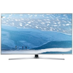 "Foto Smart TV LED 65"" Samsung Série 6 4K HDR UN65KU6400"