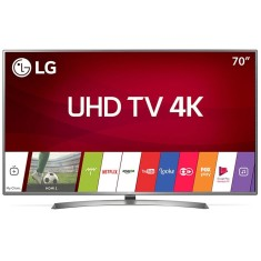 "Foto Smart TV LED 70"" LG 4K 70UJ6585 4 HDMI"