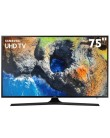 "Smart TV TV LED 75"" Samsung Série 6 4K HDR Netflix 75MU6100 3 HDMI"