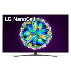 """Smart TV TV Nano Cristal 65"""" LG ThinQ AI 4K HDR 65NANO86SNA 4 HDMI"""