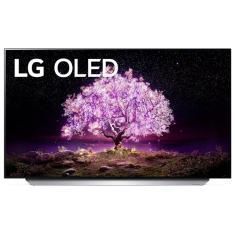 "Smart TV TV OLED 55"" LG ThinQ AI 4K HDR OLED55C1PSA 4 HDMI"