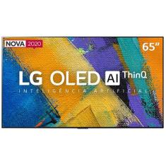 "Smart TV TV OLED 65"" LG ThinQ AI 4K HDR OLED65GXPSA 4 HDMI"