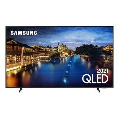 "Smart TV TV QLED 50"" Samsung 4K HDR QN50Q60AAGXZD 3 HDMI"