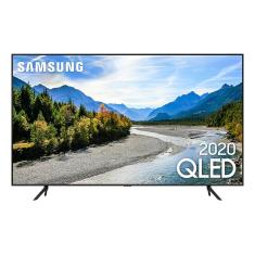 "Smart TV TV QLED 50"" Samsung Q60T 4K HDR QN50Q60TAGXZD 3 HDMI"