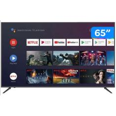 "Smart TV TV QLED 65"" JVC 4K LT-65MB708 4 HDMI"