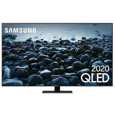 "Smart TV TV QLED 65"" Samsung 4K HDR QN65Q80TAGXZD 4 HDMI"