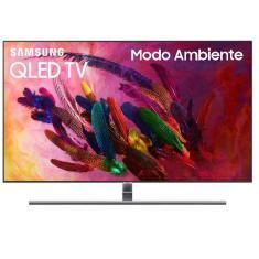 """Smart TV TV QLED 65"""" Samsung Q7FN 4K HDR QN65Q7FN 4 HDMI"""