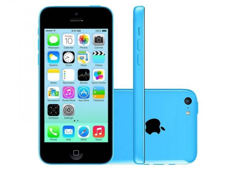 ca8ad4a3f Smartphone Apple iPhone 5C 5C 8GB 8GB 8,0 MP 1 GB 4G