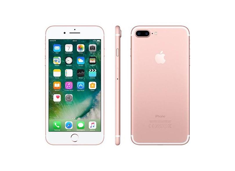 Foto ilustrativa do iPhone 7 Plus Rose