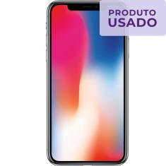 Smartphone Apple iPhone X Usado 64GB iOS