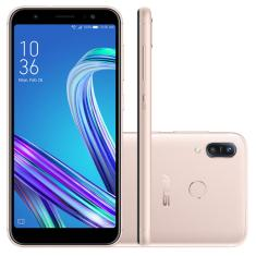 Smartphone Asus Zenfone Max (M3) ZB555KL 64GB Câmera Dupla Qualcomm Snapdragon MSM8937 2 Chips Android 9.0 (Pie)