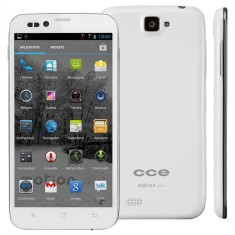 Smartphone CCE Motion Plus SK504 4GB Qualcomm MSM8225 Snapdragon 2 Chips Android 4.1 (Jelly Bean)