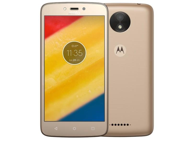 745a5ef42 Smartphone Motorola Moto C C Plus XT1726 16GB 2 Chips 8