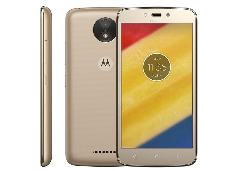 cdc5998ff Smartphone Motorola Moto C C Plus XT1726 8GB 2 Chips 8