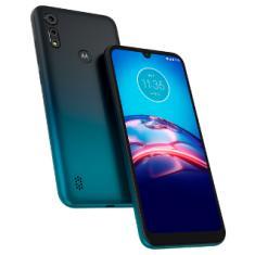 Smartphone Motorola Moto E E6s XT2053-2 32GB Câmera Dupla MediaTek Helio P22 2 Chips Android 9.0 (Pie)