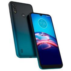 Smartphone Motorola Moto E E6s XT2053-2 64GB Câmera Dupla MediaTek Helio P22 2 Chips Android 9.0 (Pie)