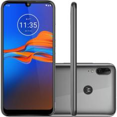 Smartphone Motorola Moto E6 Plus XT2025-1 32GB Câmera Dupla MediaTek Helio P22 2 Chips Android 9.0 (Pie)