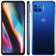 Smartphone Motorola Moto G 5G Plus XT2075-3 8 GB 128GB Câmera Dupla Câmera Quádrupla Qualcomm Snapdragon 765 2 Chips Android 10