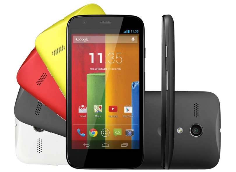 Smartphone Motorola Moto G XT1033 Colors Edition 16GB