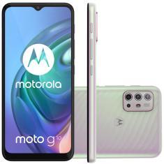 Smartphone Motorola Moto G G10 XT2127-1 64GB Câmera Quádrupla Qualcomm Snapdragon 460 2 Chips Android 11