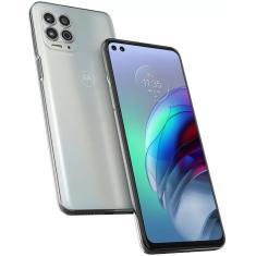 Smartphone Motorola Moto G G100 XT2125-4 256GB Câmera Quádrupla Qualcomm Snapdragon 870 2 Chips Android 11