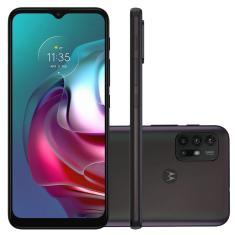 Smartphone Motorola Moto G G30 XT2129-1 128GB Câmera Quádrupla Qualcomm Snapdragon 662 Android 11