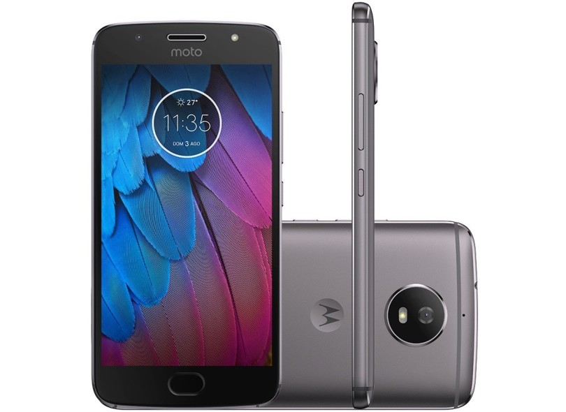 097cd85435 Smartphone Motorola Moto G G5S XT1792 32GB Qualcomm Snapdragon 430 2 Chips  16,0 MP 2 GB 4G