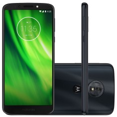 Smartphone Motorola Moto G G6 Play XT1922-5 32GB Qualcomm Snapdragon 430 13,0 MP 2 Chips Android 8.0 (Oreo) 3G 4G Wi-Fi