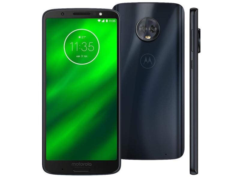 3a8d69f69a Smartphone Motorola Moto G G6 XT1925-3 32GB 2 Chips 12