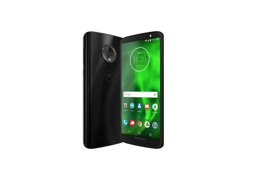 05c18142bf Smartphone Motorola Moto G G6 XT1925-3 64GB Qualcomm Snapdragon 450 2 Chips  12,0 MP 4 GB 4G