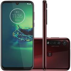 Smartphone Motorola Moto G G8 Plus XT2019-2 64GB Câmera Tripla Qualcomm Snapdragon 665 2 Chips Android 9.0 (Pie)