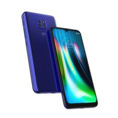 Smartphone Motorola Moto G G9 Play XT2083-1 4 GB 64GB Câmera Tripla Qualcomm Snapdragon 662 2 Chips Android 10