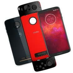 Foto Smartphone Motorola Moto Z Z3 Play GamePad Edition XT1929-5 64GB Qualcommm Snapdragon 636 12,0 MP 2 Chips Android 8.1 (Oreo) 3G 4G Wi-Fi