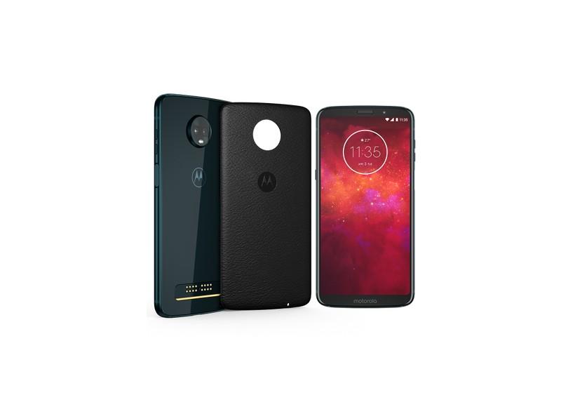 60ce94b0a Smartphone Motorola Moto Z Z3 Play Style Edition XT1929-5 64GB 2 Chips 12