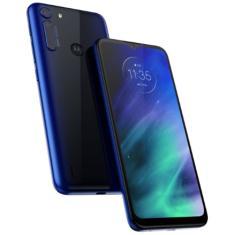 Smartphone Motorola Motorola One Fusion XT2073-2 4 GB 128GB Câmera Quádrupla Qualcomm Snapdragon 710 2 Chips Android 10