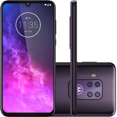 Smartphone Motorola Motorola One Zoom XT2010-1 128GB Câmera Quádrupla Qualcomm Snapdragon 675 Android 9.0 (Pie)
