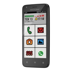 Foto Smartphone Multilaser MS45S Sênior P9029 8GB Android