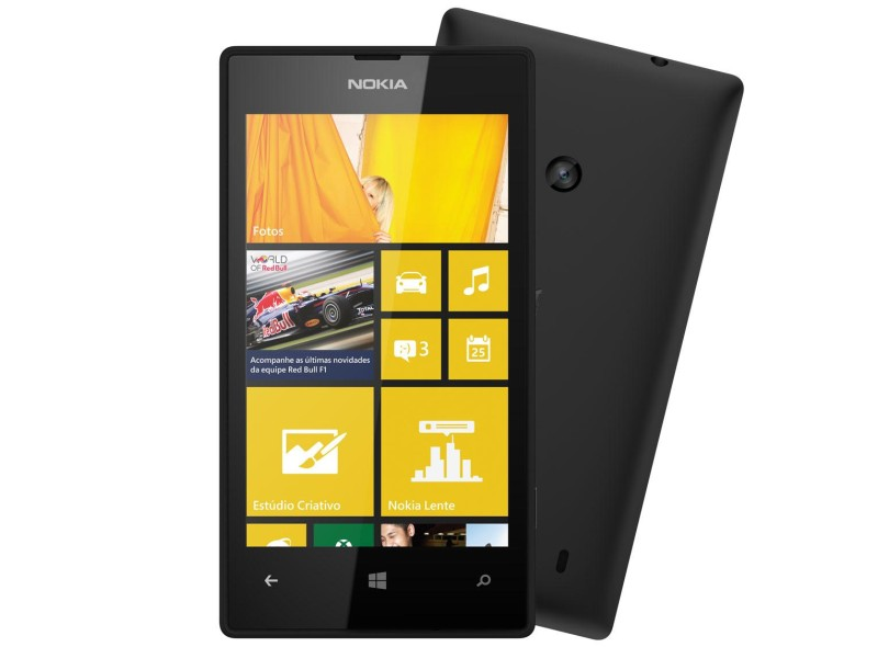af76a583cd430 Smartphone Nokia Lumia 520 8GB 5,0 MP 512 MB