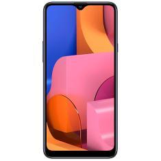 Smartphone Samsung Galaxy A20s SM-A207M 32GB Câmera Tripla Qualcomm Snapdragon 450 2 Chips Android 9.0 (Pie)