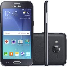 Smartphone Samsung Galaxy J2 J200M 8GB 5,0 MP 2 Chips Android 5.1 (Lollipop) 3G Wi-Fi 4G