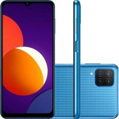 Smartphone Samsung Galaxy M12 4 GB 64GB Câmera Quádrupla 2 Chips Android 11