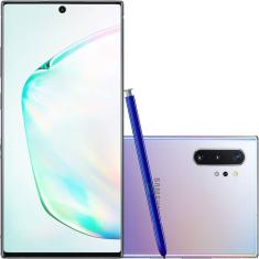 Smartphone Samsung Galaxy Note 10 Plus SM-N975F 256GB Câmera Quádrupla 2 Chips Android 9.0 (Pie)