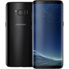 Foto Smartphone Samsung Galaxy S8 SM-G950 64GB 12,0 MP 2 Chips Android 7.0 (Nougat) 3G 4G Wi-Fi