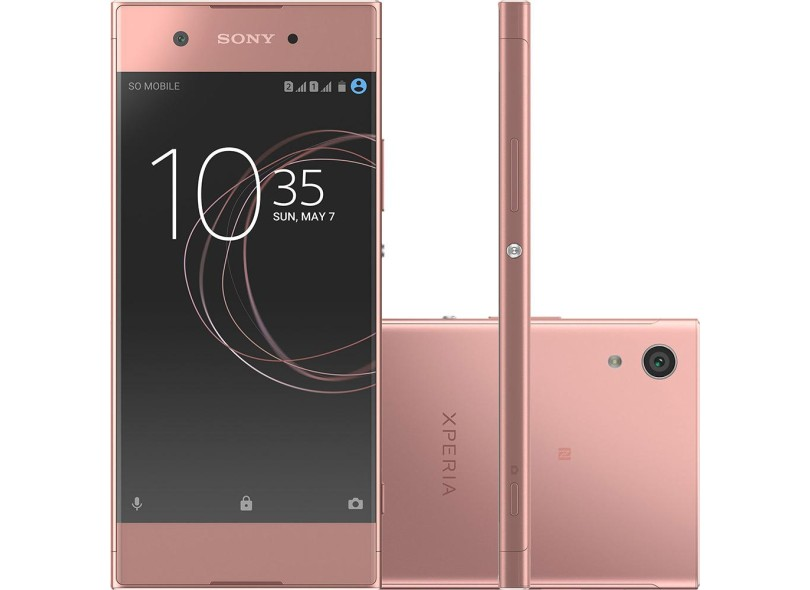 smartphone sony xperia xa1 32gb 2 chips 23 0 mp 3 gb 4g