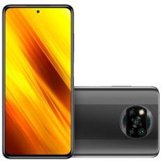Smartphone Xiaomi Pocophone Poco X3 NFC 64GB Câmera Quádrupla Qualcomm Snapdragon 732G 2 Chips Android 10