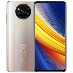 Smartphone Xiaomi Pocophone Poco X3 Pro 6GB RAM 128GB Câmera Quádrupla 2 Chips Android 11