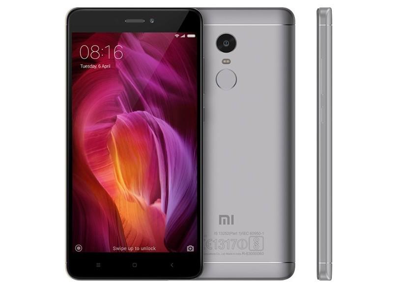 1acb8bae7 Smartphone Xiaomi Redmi Note 4 3 GB RAM 32GB 2 Chips 13