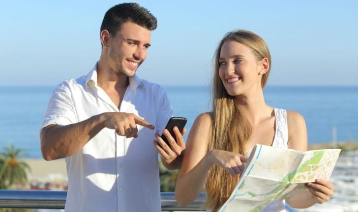 Smartphones com GPS