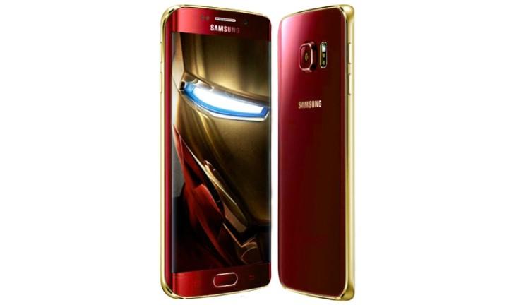 Smartphones Samsung Galaxy S6 e Galaxy S6 Edge vão ganhar versão do Homem de Ferro